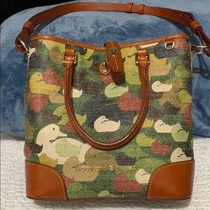 Dooney and Bourke Camo Cayden shoulder bag.